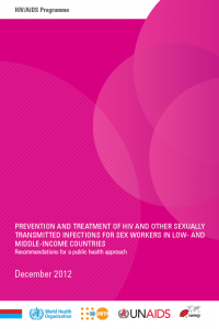 Prevention and Treatment of HIV and other Sexually Transmitted Infections for Sex Workers in Low- and Middle-income Countries: Recommendations for a public health approach.