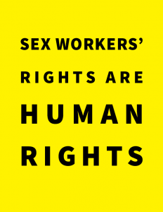 Amnesty International, Sex Workers' Rights are Human Rights